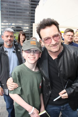 Nathaniel Crossley and Bono.JPG